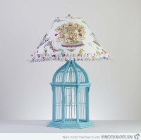 Bird cage table lamp | Warisan Lighting