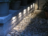 Outdoor Wall Lighting Ideas. Recessed Outdoor Wall Lights ...