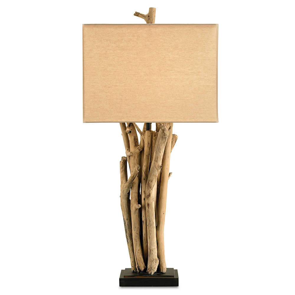 The uses of Driftwood table lamps