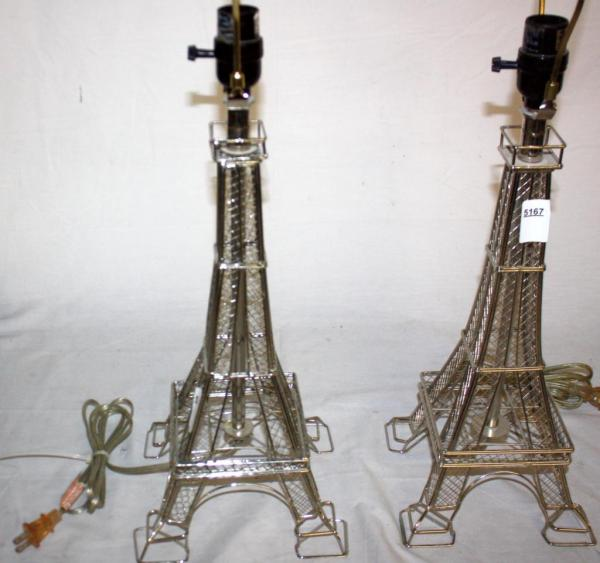 Eiffel Tower Lamps Relive Paris Dream With