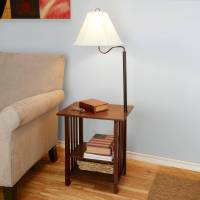 End table with attached lamp - 10 reasons to buy | Warisan ...