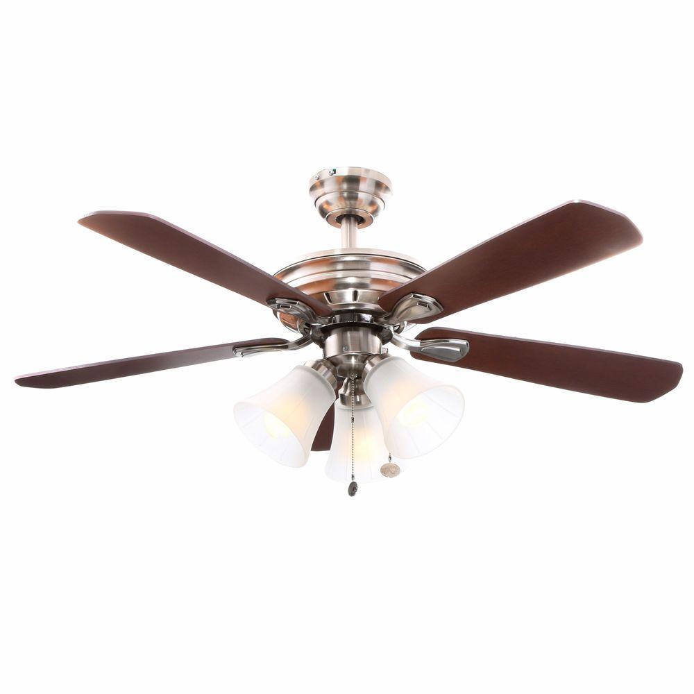 Hampton bay 4 light ceiling fan  10 reasons to buy