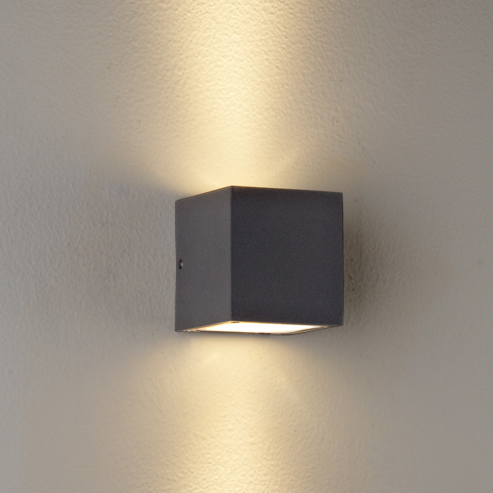 Led up and down wall lights
