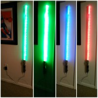 Light saber wall light - Star Wars Atmosphere at Your Home ...