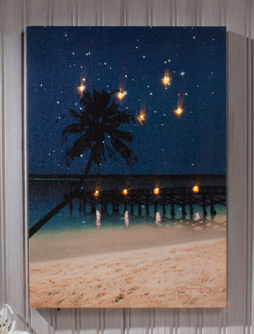Where to use light up canvas wall art