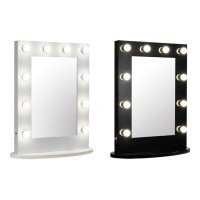 wall mounted makeup mirrors with lights