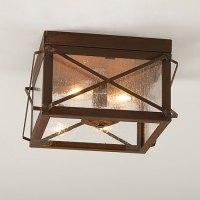 Rustic ceiling lights