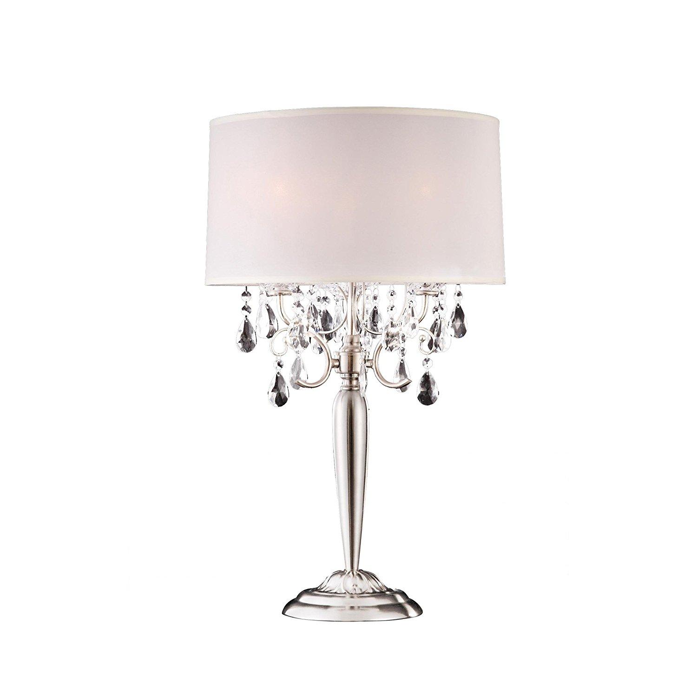Where to use Small crystal table lamps  Warisan Lighting