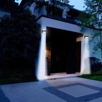 Solar powered garden wall lights - perfect solutions one ...