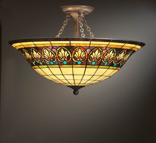 Tiffany Style Ceiling Light Fixture