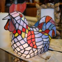 10 Functions of stained glass rooster lamps | Warisan Lighting