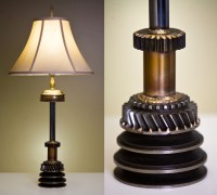 Steampunk lamps - 25 ways to add a touch of vintage and ...