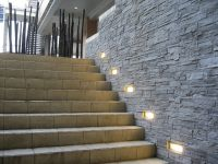 Stone wall lights - a way of lighting up wall decors ...