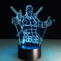 Superhero lamps
