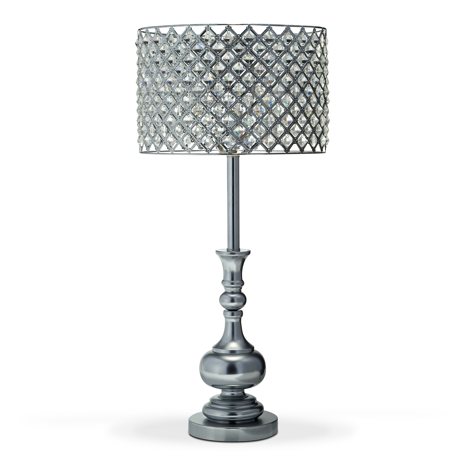 Table lamp crystal  bring elegance and beauty in your