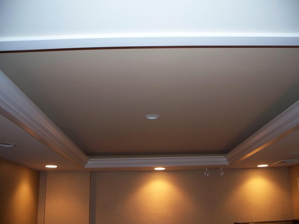 How To Build A Tray Ceiling With Lights Pranksenders