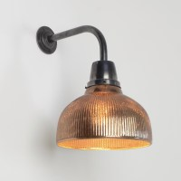 Vintage industrial wall lights add security to your ...