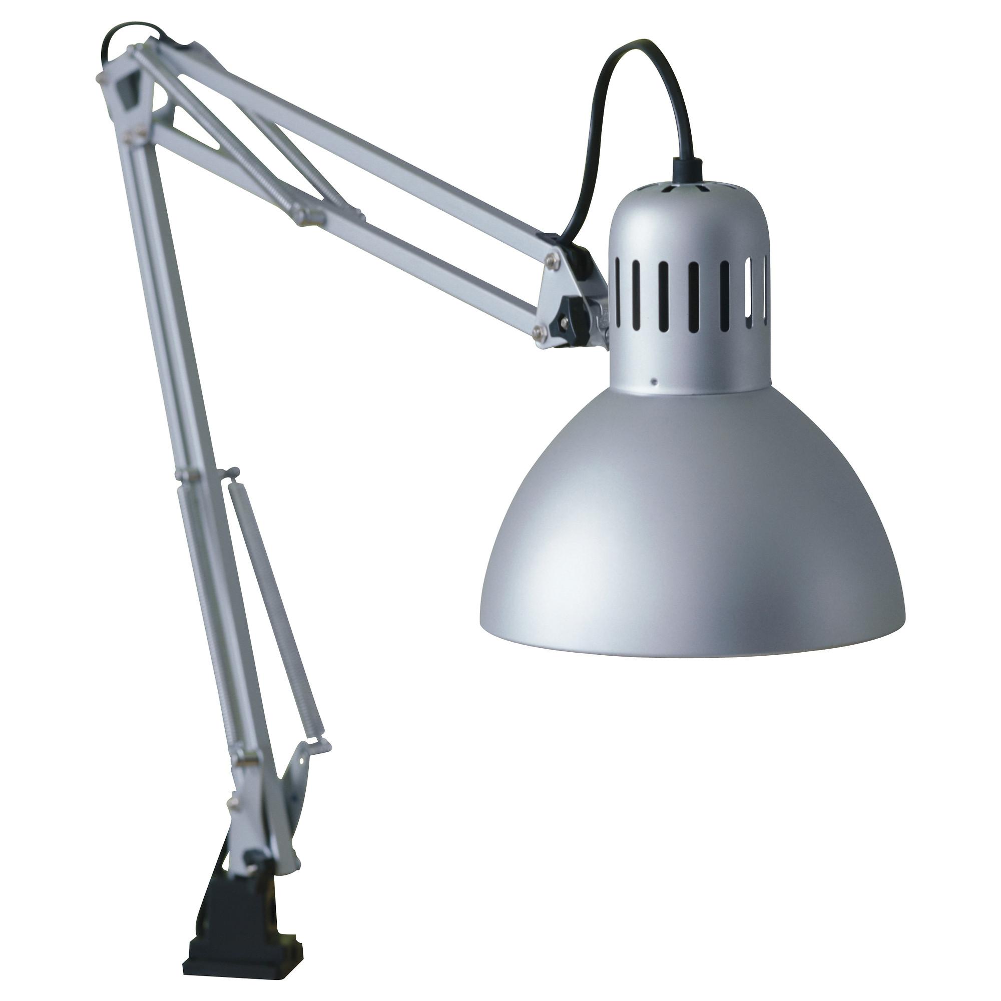 Wall mounted desk lamp