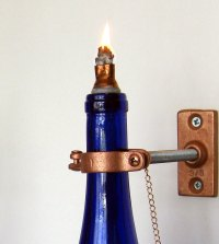 10 facts about Wine bottle oil lamp