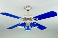 Blue ceiling fans - Choosing the best by setting the first ...