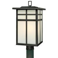 Innova lighting led 3-light outdoor lamp post - beauty and ...