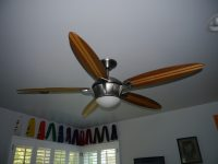 Man cave ceiling fans - 12 ceiling fans for real men ...