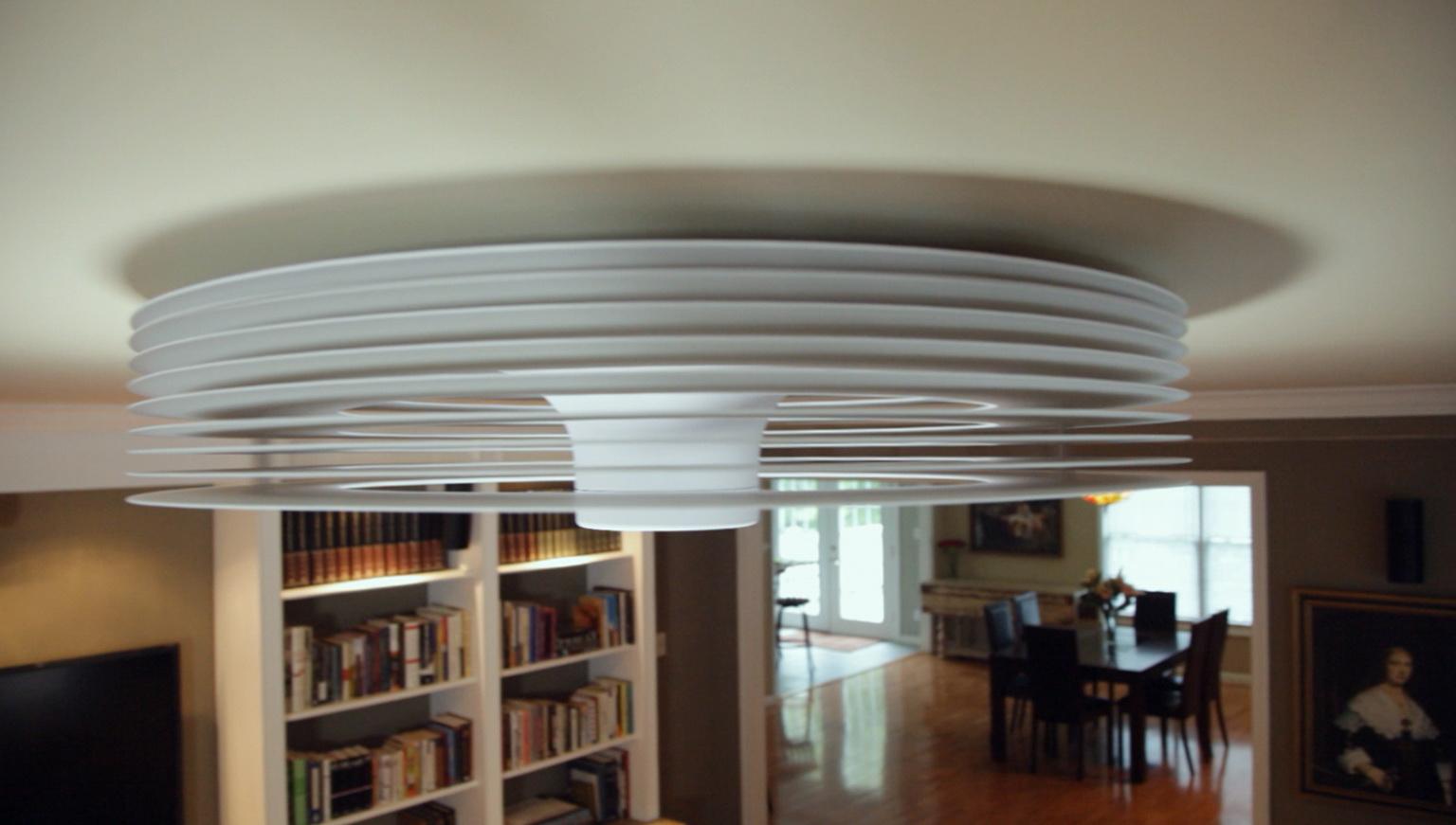 Ceiling bladeless fan  tips for installing  Warisan Lighting