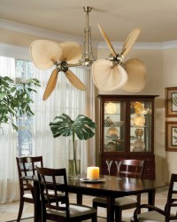 Ceiling fan for dining room
