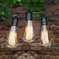 10 Commercial outdoor patio string lights ideas to light ...