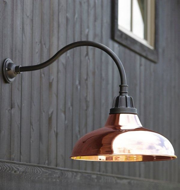 Outdoor Gooseneck Barn Light Fixtures