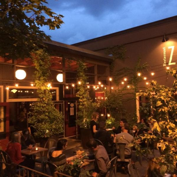 Restaurant Outdoor Patio String Lights