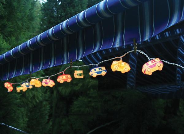 Camper Awning String Lights