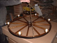 Why You Should Have a Wagon Wheel Ceiling Fan in Your Home ...