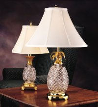 Crystal pineapple lamp - your appeal of the modern world ...