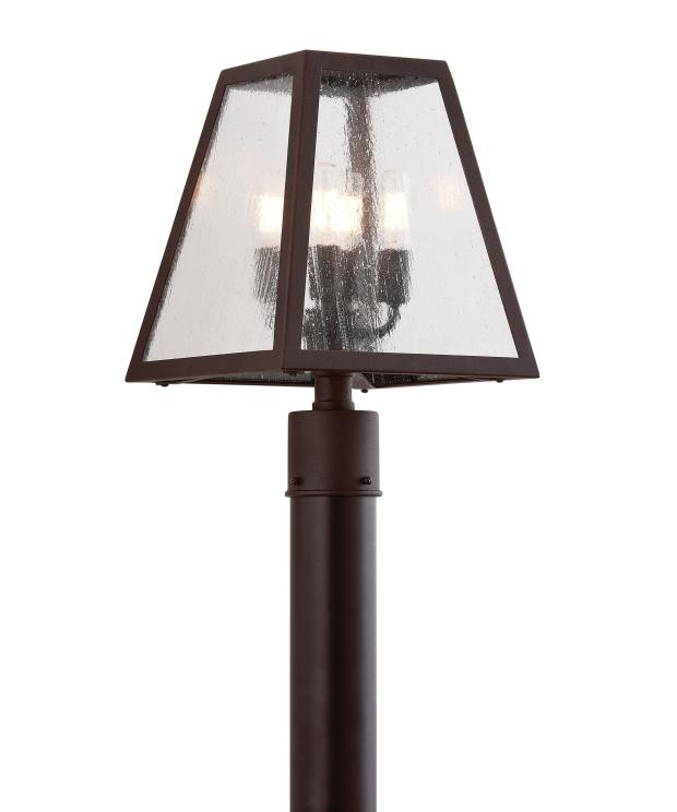 Outdoor Lamp Posts with Lights