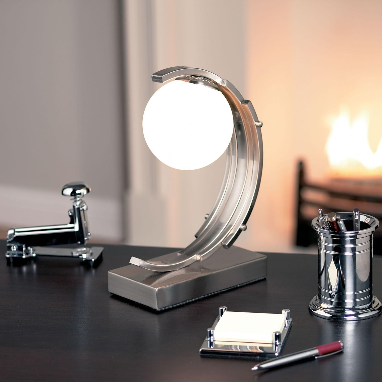 Art deco desk lamp  10 methods for lighting up a room