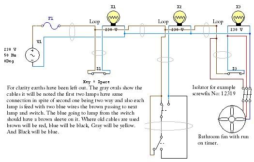Electric Bathroom Fan Wiring Diagram