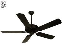 Black Ceiling Fan With Light