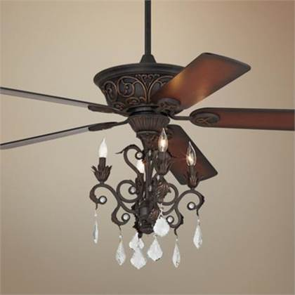 Ceiling Fan And Chandelier Photo 1