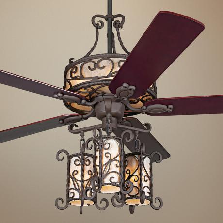 Ceiling Fan Chandelier Light Photo 1