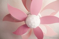 Ceiling fan for girls room
