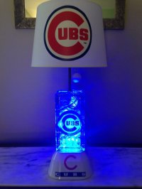 Choose chicago cubs lamp to have a quality light