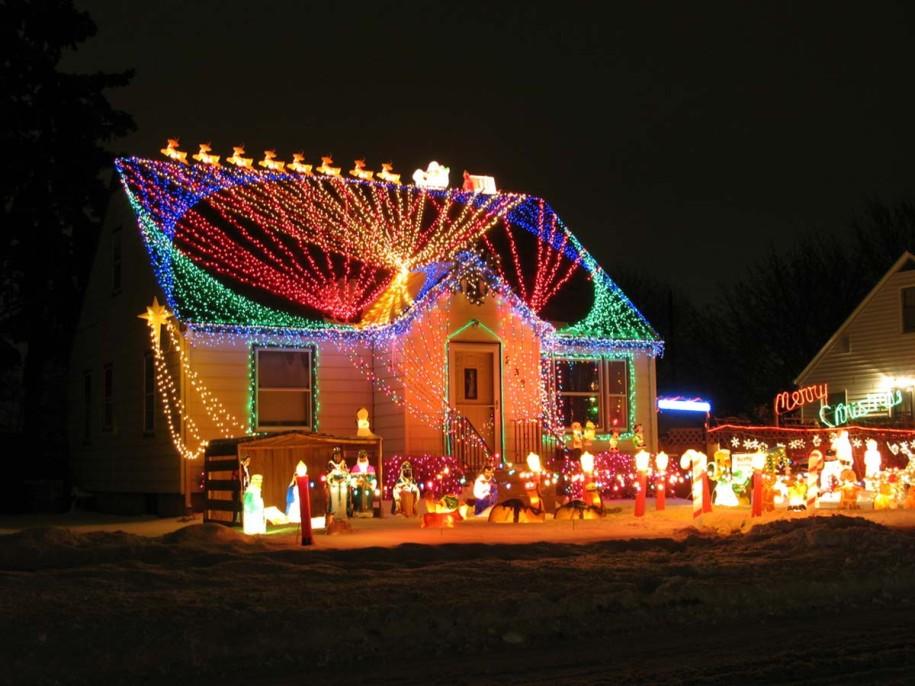 Outdoor Christmas Light Ideas House House Interior
