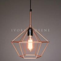Copper pendant lamp | Warisan Lighting