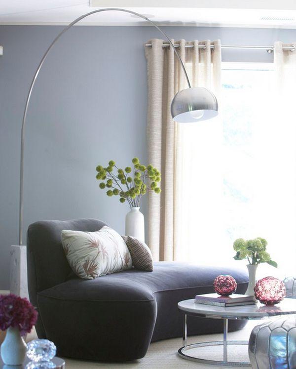 Corner floor lamp  Improving the dynamics of your living
