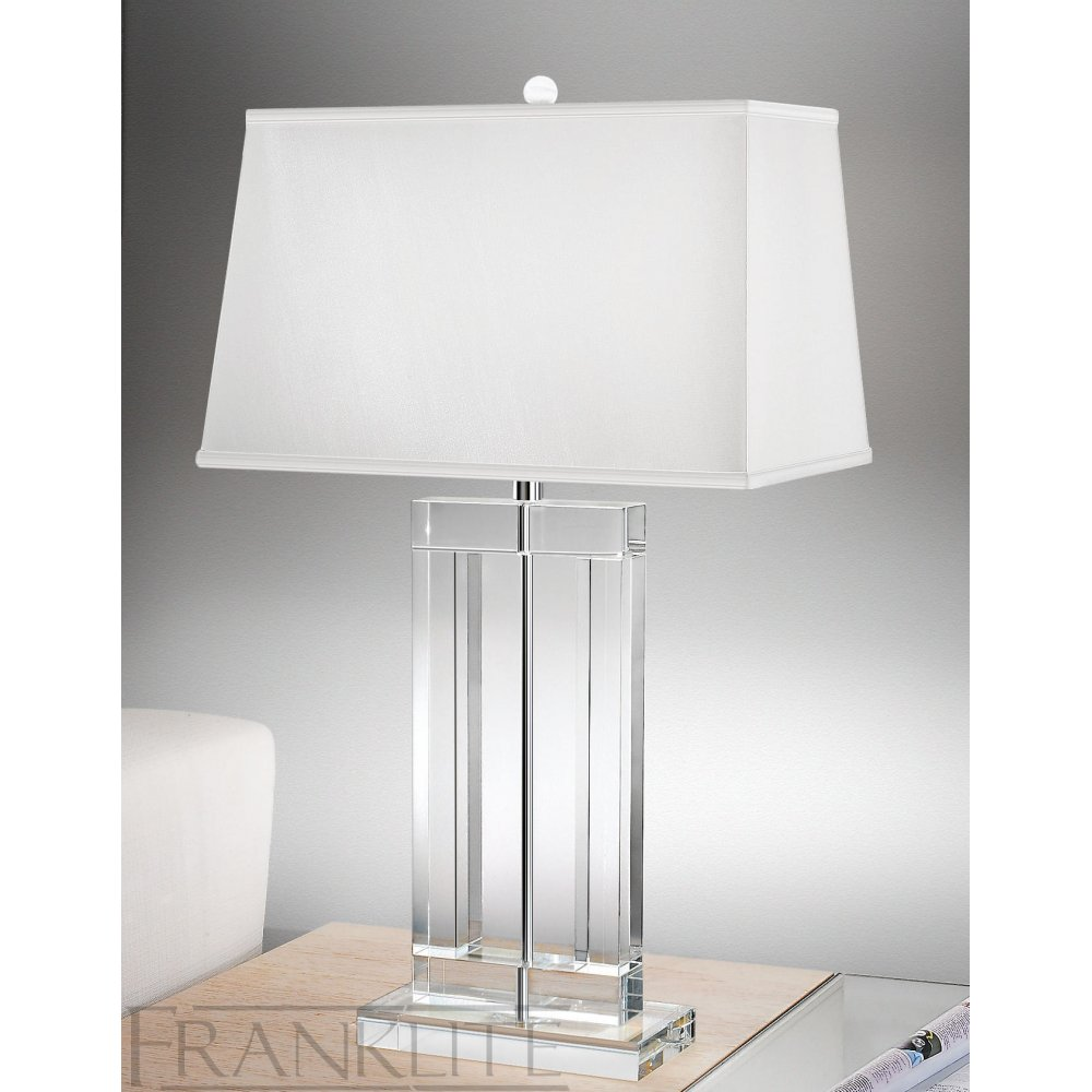 10 reasons to buy Crystal table lamps