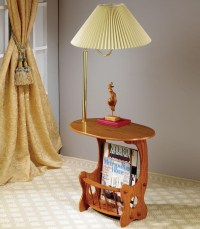 End table with lamp attached - 10 reasons to buy | Warisan ...