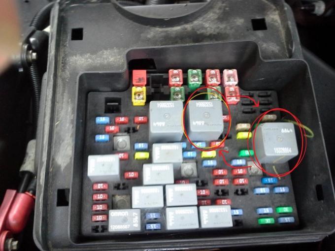 Fuse Location For Heated Seats Chevy Silverado