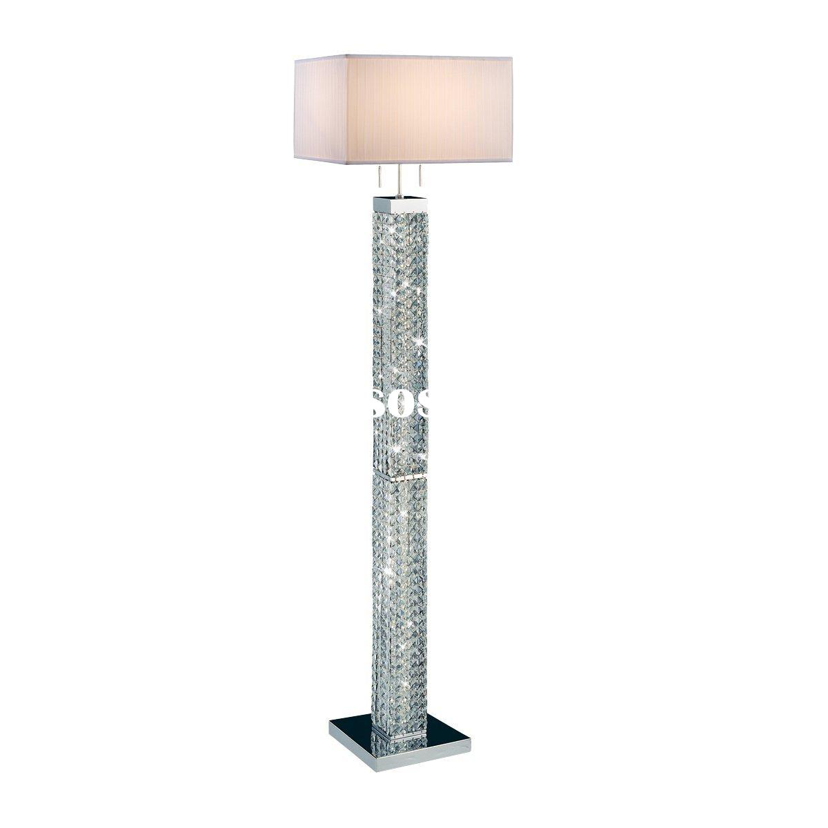Let Floor lamp crystal Illuminate your Home and Personal