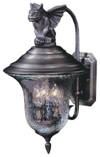 Gothic outdoor lighting - a property of dignified and ...